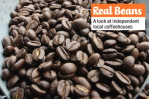 Cafe Ipe's fresh roasted beans by Dan Scheibe of Revolution Roasters.