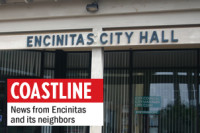 The Encinitas Right to Vote Initiative could shift approval of zoning changes from City Hall, pictured Feb. 8, to voters. (Photo by Roman S. Koenig)