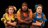 "Ashley Jenks (left), Bryan Taylor (center) and Shauna Riisoe perform in Oceanside Theatre Company's production ""A Year With Frog & Toad, "" running Dec. 6-22. (Oceanside Theatre Company photo)"