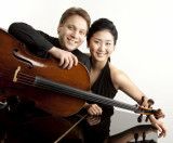 Musicians Dmitri Atapine (left) and Hye Yeon Park will perform at 7:30 p.m. Jan. 17 at the Encinitas Library. (Courtesy photo)
