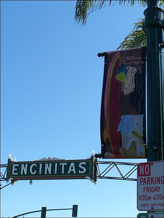 One+of+the+many+Arts+Alive+banners+on+display+along+Coast+Highway+101+in+Encinitas.+%28Photo+by+Scott+Landheer%29