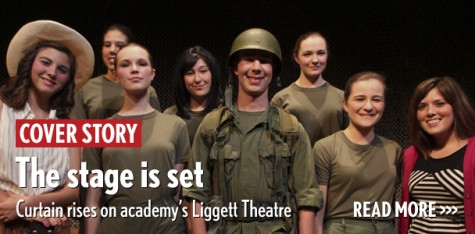 The stage is set: Curtain rises on academy's Liggett Theater