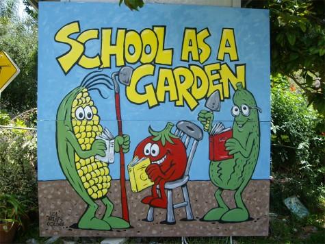 School marks garden opening