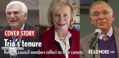 Trio's tenure: Retiring council members reflect on careers