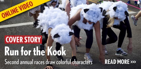 Second annual Kook Run draws colorful characters