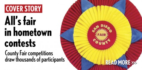 A San Diego County Fair 2012 exit poll indicated nearly half of the 1.5 million fairgoers who attended last year also visited the competition showcases, according to Student Showcase Coordinator Neil Bruington. (North Coast Current photo illustration)