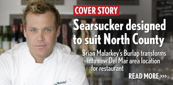 Celebrity chef Brian Malarkey recently opened a Searsucker location in the Del mar area. (Photo by Chantelle Marie, courtesy of Enlightened Hospitality Groups)