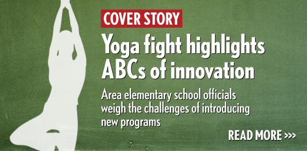 A program introducing yoga in Encinitas schools resulted in a lawsuit, which the Encinitas Union School District ultimately won. (North Coast Current photo illustration)