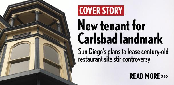 The Twin Inns site in Carlsbad, which housed Nieman's and Ocean House restaurants over the past three decades, will now house a Sun Diego Boardshops store. (North Coast Current photo)