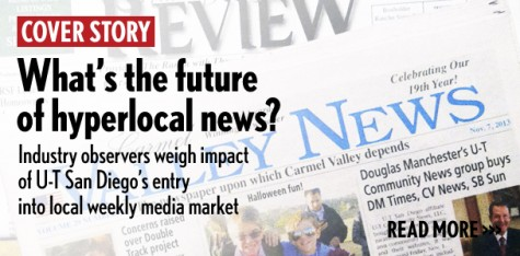 Industry observers weigh impact of U-T San Diego's entry into local weekly media market