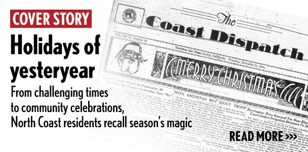Local newspaper Coast Dispatch often marked the local holiday season with special coverage. (North Coast Current archive)