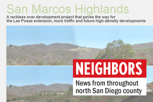 Opponents to the proposed San Marcos Highlands development have been tracking the project at www.sanmarcoshighlands.com. (North Coast Current)