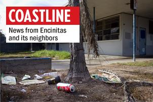 The Pacific View Elementary School site in Encinitas, closed in 2003, is set to be auctioned by the Encinitas Union School District on March 25. (Photo by Scott Allison)