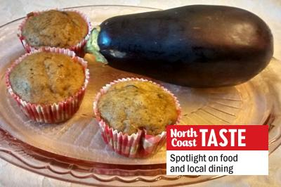 Eggplant, like zucchini, can work well in muffin recipes. (Photo by Laura Woolfrey-Macklem)