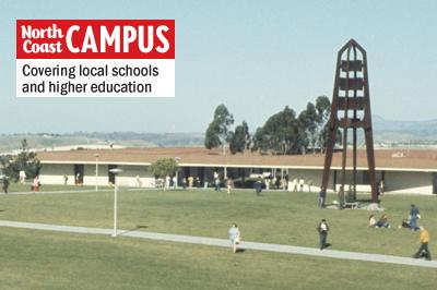 MiraCosta College in Oceanside is shown in 1974, 10 years after the permanent main campus opened. (MiraCosta College photo)