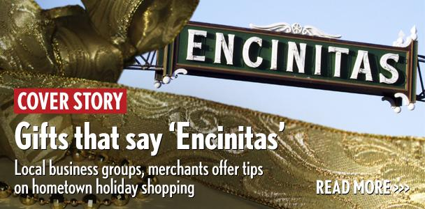 The communities of Encinitas each offer holiday shopping with singular character, according to area merchant groups. (North Coast Current photo illustration)