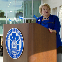 CSU San Marcos President Karen Haynes. (Courtesy photo)