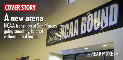 A new arena: NCAA transition at San Marcos going smoothly, but not without initial hurdles