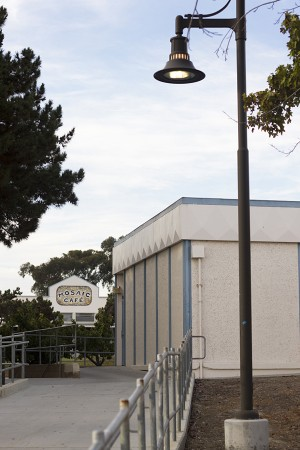 A portion of the old San Dieguito Academy arts and theater complex is pictured Aug. 15, 2012. The complex was raised in the past few months for new construction. (North Coast Current file photo)