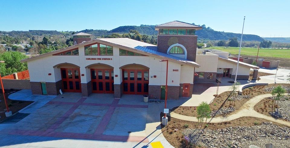 Carlsbad's new Fire Station 3 is ready for operation as of Feb. 29, according to city officials. (Carlsbad city photo)