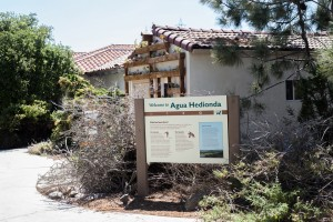 The Agua Hedionda Lagoon visitors center is pictured April 20. The Carlsbad lagoon was the center of a hotly contested vote in February over development near the preserve. (Photo by Jen Acosta)