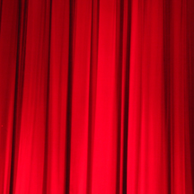 Stage curtains. (Photo by Peter Ong, FreeImages)