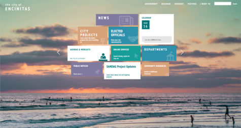 Encinitas launches updated, streamlined city website