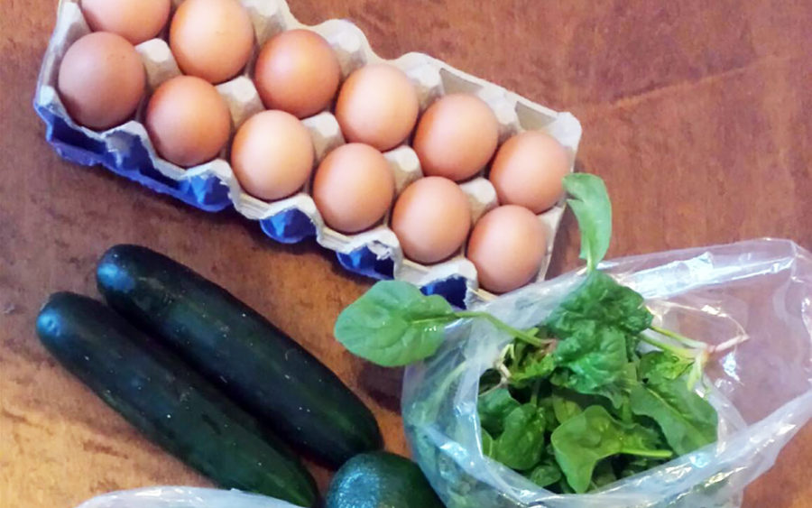 The Vista Farmers Market offers farm-fresh eggs. (Photo courtesy of Vista Farmers Market)
