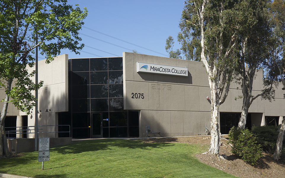 MiraCosta College's Technology Career Institute, pictured April 7, 2015, is located in Carlsbad. (MiraCosta College photo)