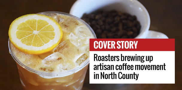 The African Palmer, a blend of lemonade and coffee, is a featured drink at Sleeping Tiger Coffees in Carlsbad, one of several North County roasters building an artisan movement in the region. (Photo by Lauren J. Mapp)