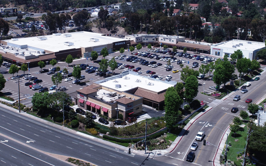 Encinitas+Marketplace+shopping+center%2C+pictured+in+a+June+2018+photograph%2C+has+been+sold+for+%2443+million.+%28Southwest+Strategies+courtesy+photo%29