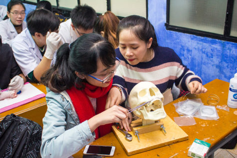 A new plastic surgery training facility at Hue University in Vietnam has opened with the help of Carlsbad-based nonprofit ConnectMed International. (ConnectMed photo)