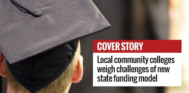 Local community colleges weigh challenges of new state funding model