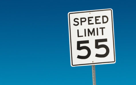 Speed has been reduced to 55 mph along Interstate 5 from Encinitas to Carlsbad during freeway construction. (Photo by Micah Bowerbank, iStock Getty Images)