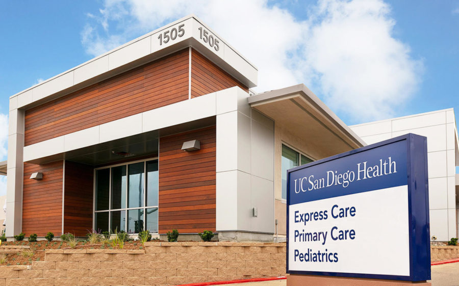 UC San Diego Health's new Encinitas primary care center, pictured June 10, is one of several such facilities planned by the health system in the region. (UC San Diego Health photo)