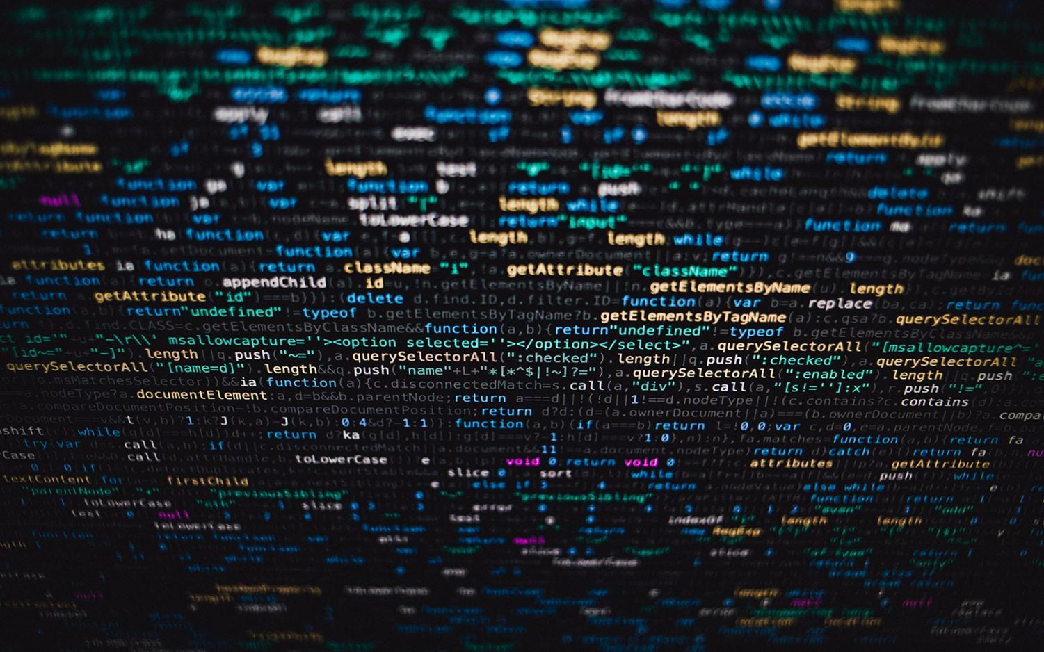 Computer code. (Photo by Markus Spiske, Unsplash)