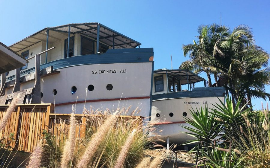 The+Encinitas+Boat+Houses%2C+pictured+Aug.+23%2C+are+on+track+to+be+included+on+the+National+Register+of+Historic+Places.+%28Photo+by+Roman+S.+Koenig%29
