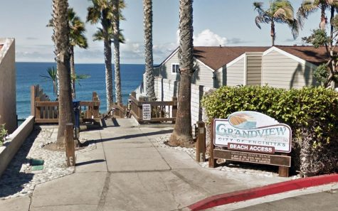 Grandview Beach in the Encinitas community of Leucadia. (Google Street View photo)