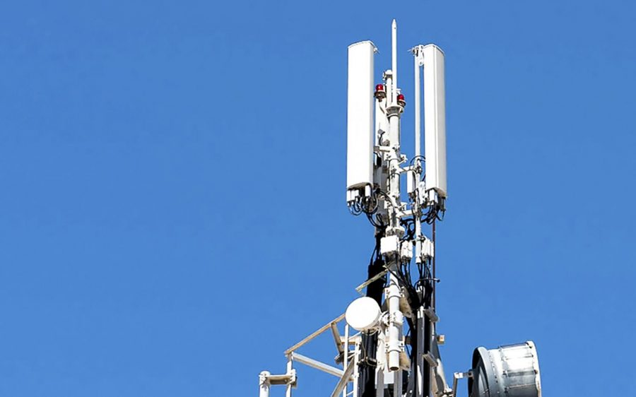 5G wireless stations are generally smaller than traditional cell towers and can be placed in a variety of locations. Pictured here are cell telecommunications antennas and repeaters. (Photo by Stratos Giannikos, iStock Getty Images)