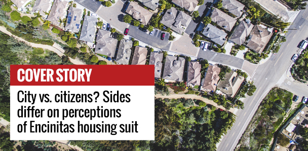 City vs. citizens? Sides differ on perceptions of Encinitas housing suit