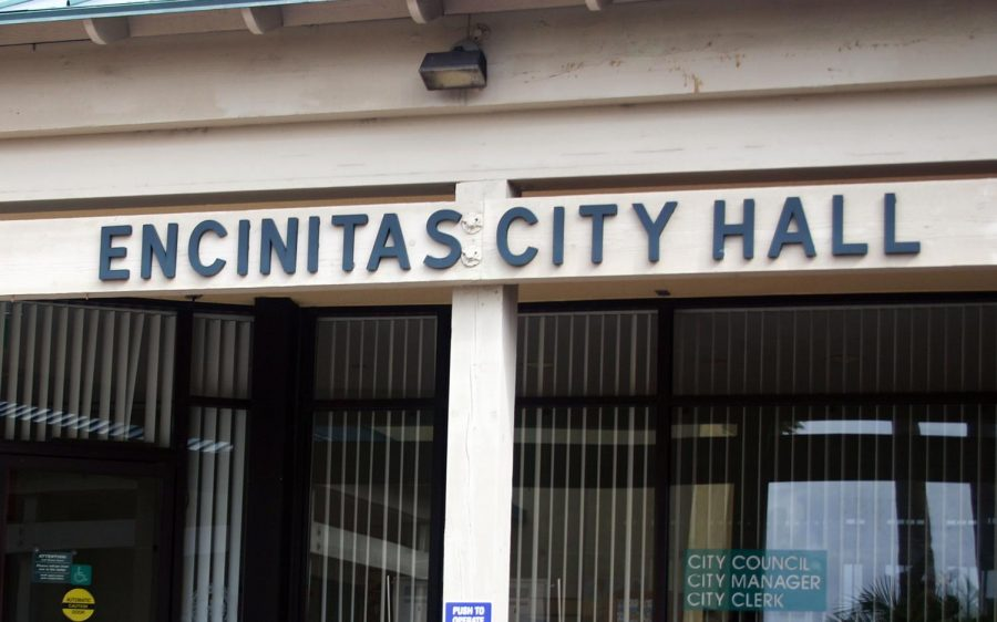 Encinitas City Hall. (NCC file photo)