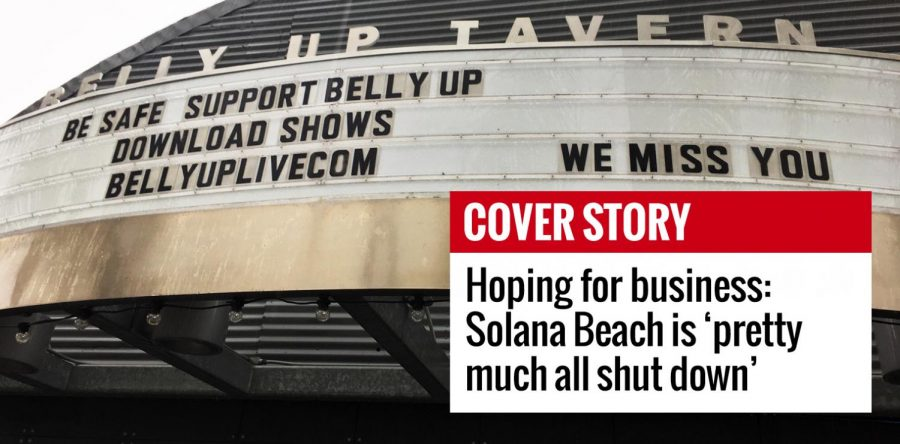 Hoping for business: Solana Beach is 'pretty much all shut down'