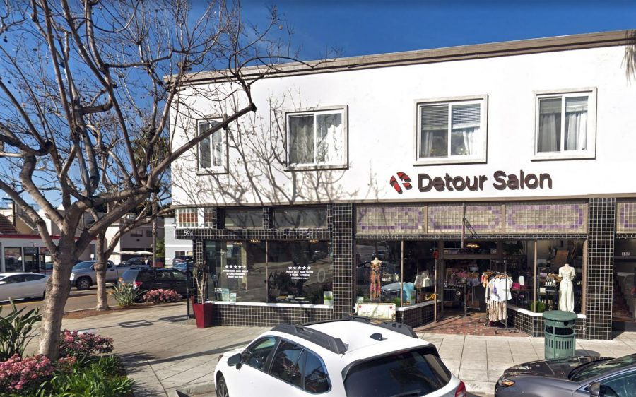 Detour Salon in Encinitas is closing after 22 years, the owners announced on Wednesday, May 27. (Google Street View photo)