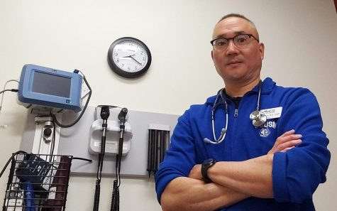 Dr. James Chun, shown in a June photo, is interim medical director for Student Health and Counseling Services at Cal State San Marcos. (CSUSM public relations photo)