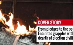 Photo of newspaper on fire. (Photo illustration by Jeremy Bishop, Unsplash)