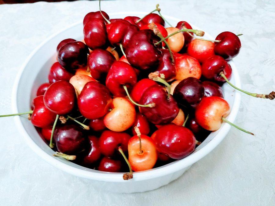 Start+with+fresh+cherries.+%28Photo+by+Laura+Woolfrey+Macklem%29
