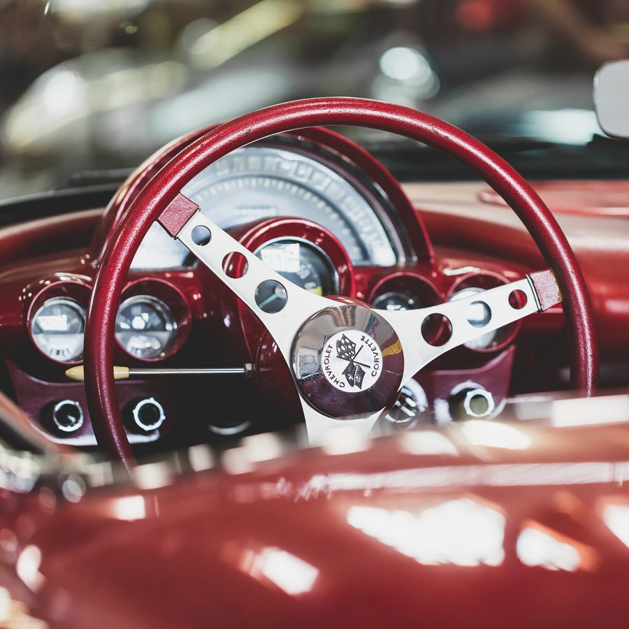 Classic car. (Photo by Ash Edmonds via Unsplash)