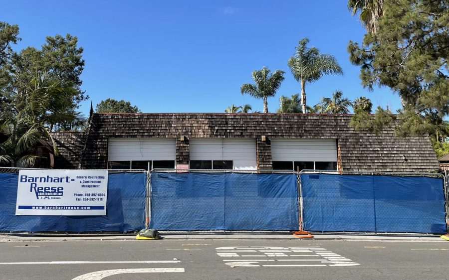 Demolition work has begun on Carlsbad's Fire Station 2 in La Costa, pictured June 24. (North Coast Current photo)