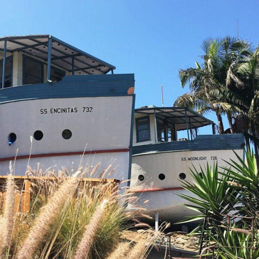 Encinitas boathouses. (NCC file photo)